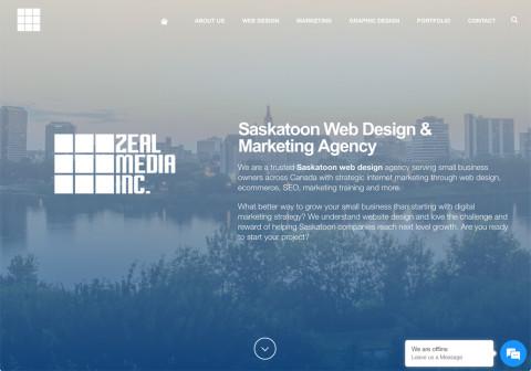 Website Design Firm in Saskatchewan, Canada